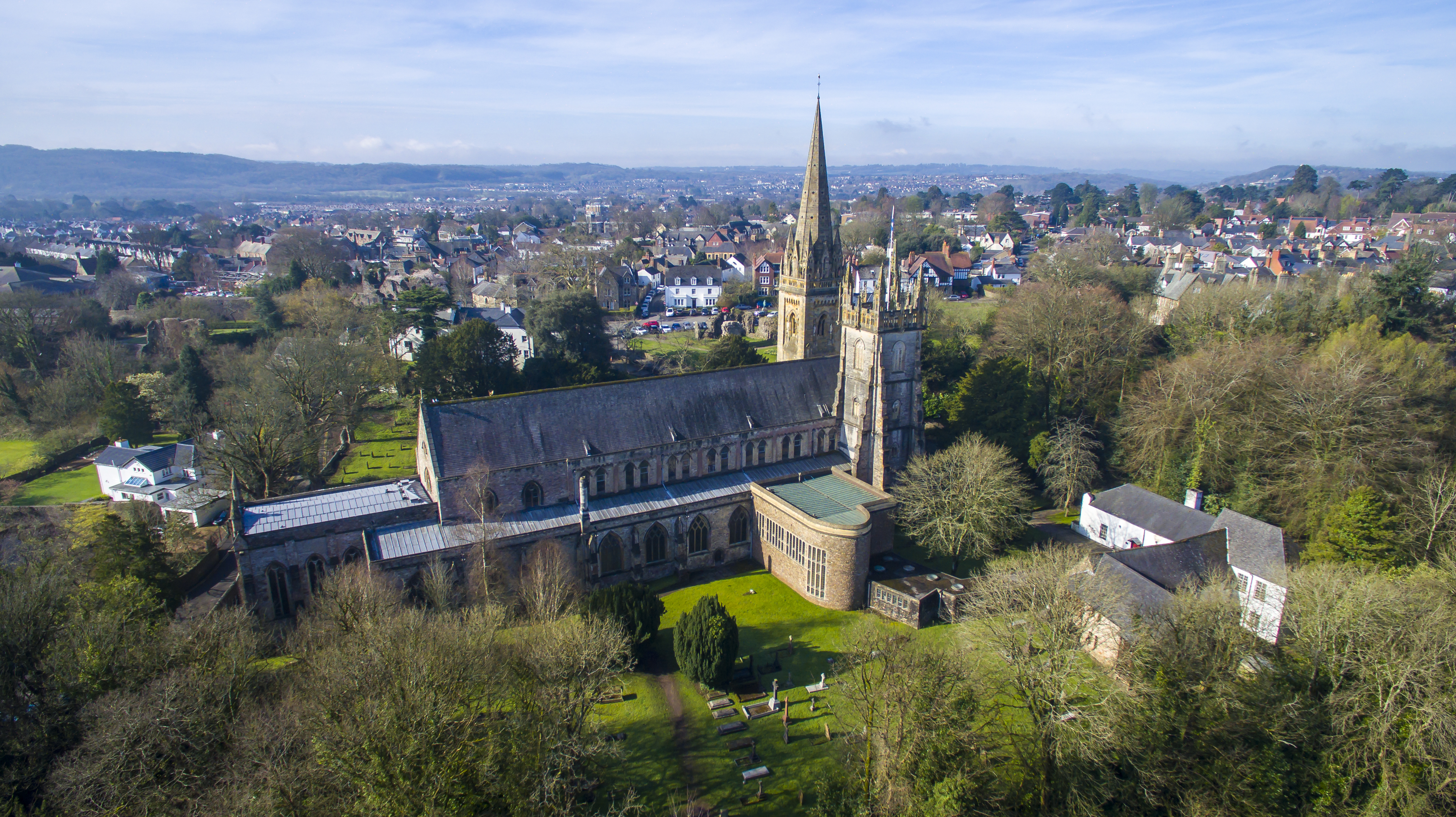 Llandaf Aerial Photography 1-2