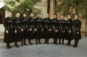 Rustavi - 10 singers in black