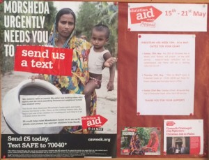 Christian Aid Poster