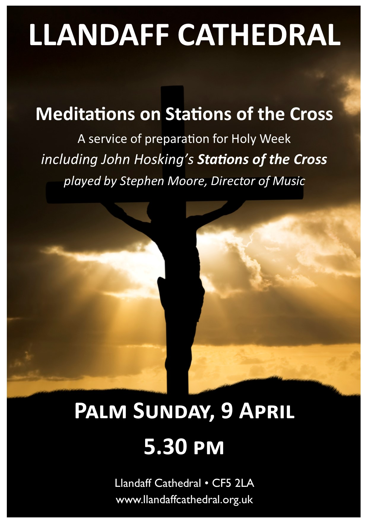 Stations of the Cross Poster 2017