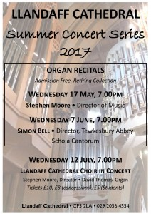 Llandaff Cathedral Concert Series 2017