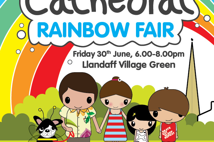 Llandaff Cathedral's Rainbow Fair