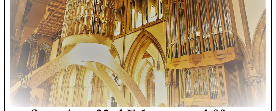 Saturday 23rd February – Lunchtime Recital