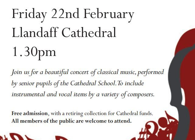 Cathedral School Lunchtime Recital