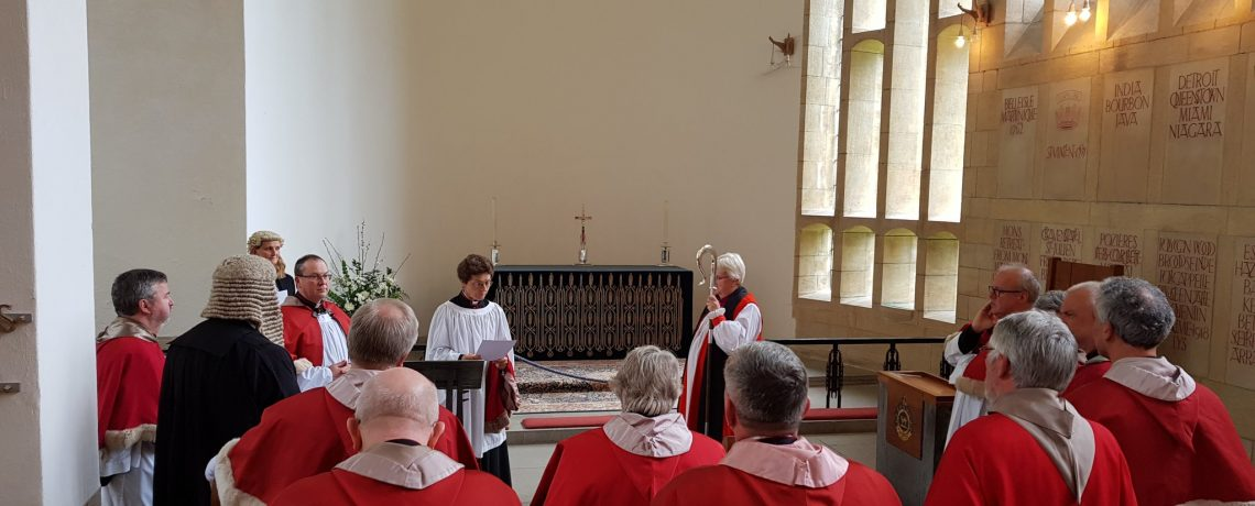 Installation of Canon Chancellor