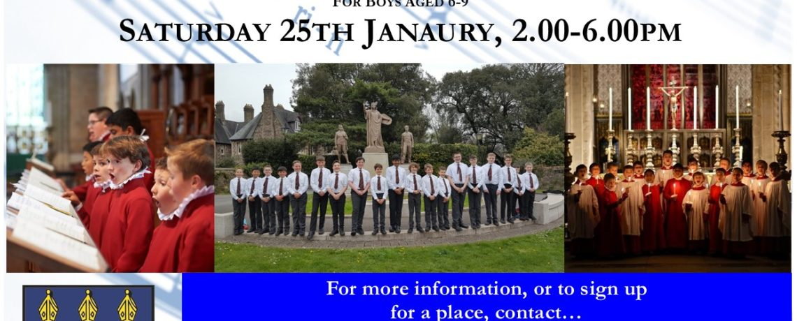 Chorister Experience Day